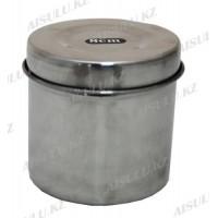 Посуда металлическая с крышкой для мелочей Ø 8 см