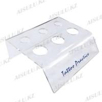 Подставка под емкости для красок пластик. прозр. 6 в 1
