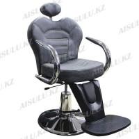 B-1040 Кресло парикмахерское (черное, матовое)