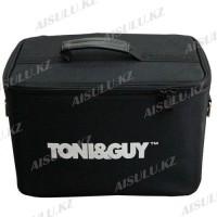 Кейс-сумка для парикмахера #1603 Tony & Guy матерчатая, черная (м)