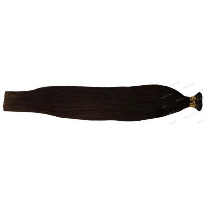 Волосы 100% натур. Soft 50 см на кератин. капсулах №4