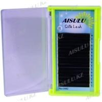 Ресницы №1602 один/шелковые, B/0,20 мм/8 мм (в 16 рядов) AISULU Silk Lash