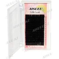Ресницы №1603 один/шелковые, C/0,20 мм/8 мм (в 16 рядов) AISULU Silk Lash