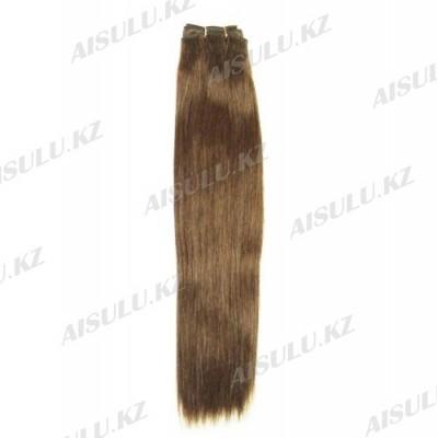 Волосы 100% натур. Soft 55 см на трессе №4