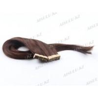 Волосы для ленточного наращивания 55 см крашен (30 лент) самоклейка №3