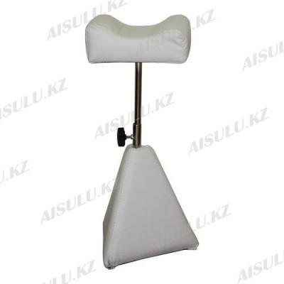 AS-077 Подставка педикюрная для ног (белая)