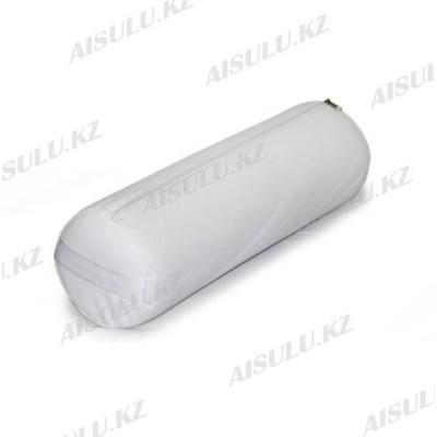 AS-0115 Валик для массажа круглый 50 х 15 см (белый)