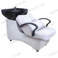 AS-006 Мойка парикмахерская с креслом (белая,