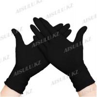 Перчатки нитриловые черные Adele