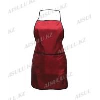 Фартук для парикмахера AS-4477 красный, 60 см*70 см 76294(2)