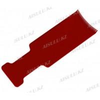 Расческа для покраски и колорирования Tony&Guy K-21 плоская 9,4 х 26,3 мм цвет (в ассорт.)