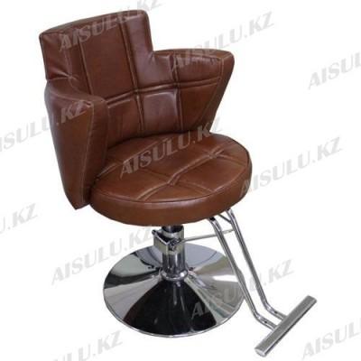 AS-8867 Кресло парикмахерское (светло-коричневое)