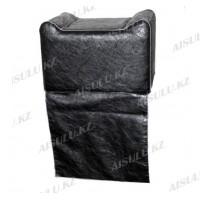 AS-090 Кресло-пуфик детское переносное (черное,