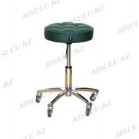 AS-3011 Стул для мастера (зеленый)