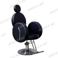 AS-6688 Кресло парикмахерское (черное)