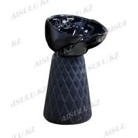 AS-009 Мойка-тумба без кресла (черная)