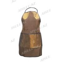 Фартук для парикмахера AS-4477 коричневый, 60 см*70 см