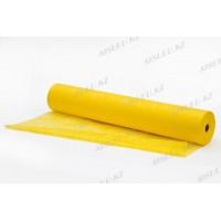 Простыня одноразовая SMS Стандарт Рулон (200 х 80 см) желтая Чистовье (100 шт.)