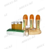 Воскоплав кассетный YM-8324 (3 в 1) + 3 картриджа, полоски и масло