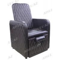 AS-0888 Кресло педикюрное без ванночки (темно-коричневое)