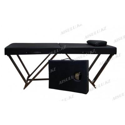 AS-388 Кушетка массажная/чемодан (черная,