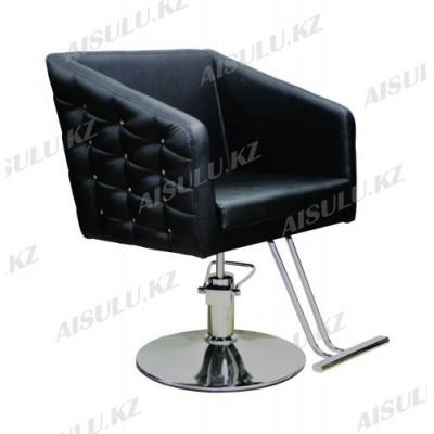 AS-8885 Кресло парикмахерское (черное, гладкое)
