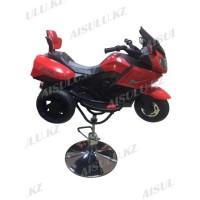 AS-918 Кресло парикмахерское детское (мотоцикл)