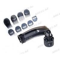 Машинка для стрижки волос ROWENTA Vacuum Hair #4350-0052 с 9 насадками