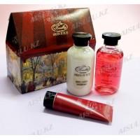 Skin Juice NY-1801 Домик (маска д/рук + лосьон д/тела + гель д/душа)  OLLIN