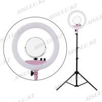 LED Лампа для визажиста Ø38 кольцевая/напольная c зеркалом