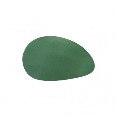 Скребок для гуаша из натурального зеленого нефрита (яйцо)