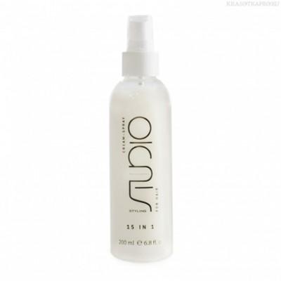 Крем-спрей для волос STUDIO 15 в 1 серия Styling 200 мл