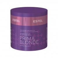 Серебристая маска ESTEL PRIMA BLONDE для холодных оттенков блонд 300 мл