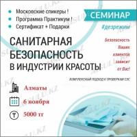Билет на семинар Чистовье (Алматы)