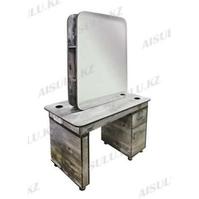AS-5090 Зеркало двухстороннее (коричневое дерево)