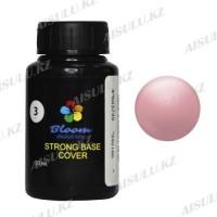 База жесткая BLOOM STRONG 3 светлый  розовый 30 мл.