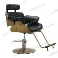 AS-7082 Кресло парикмахерское (черное)