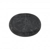 Камень для стоун-терапии базальтовый 6 х 5 см (овальный)