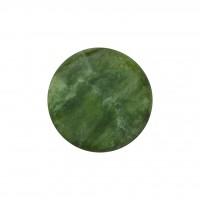 Камень для стоун-терапии нефритовый 7 х 7 см (круглый)