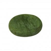 Камень для стоун-терапии нефритовый 8 х 6 см (овальный)