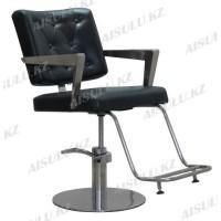 AS-7091 Кресло парикмахерское (черное)