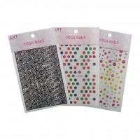 Стикеры для ногтей YOGA-NAIL 15 х 8,5 см (в ассорт.)