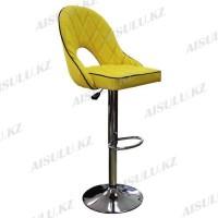 AS-418 Кресло для макияжа со спинкой (желтое)