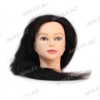 Болванка учебная для парикмахера ТМ-006 70% натур. волосы 70 см (не крашенный)