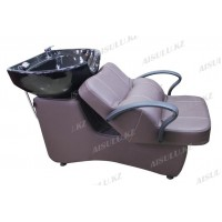 AS-006 Мойка парикмахерская с креслом (светло-коричневая)