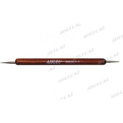 Дотс для дизайна ногтей AS-001-1 (деревянная ручка) 2-х стор. AISULU