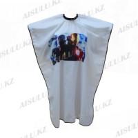 Пеньюар детский AISULU WB-05 Железный человек белый