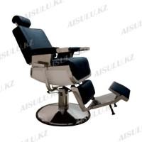 AS-7704 Кресло парикмахерское для барбершопа (черное,