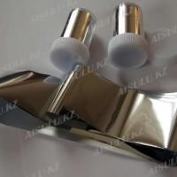 Фольга для нейл-дизайна (серебро,золото) в банке