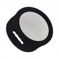 Зеркало для клиентов №987 круглое, с одной ручкой, небьющееся